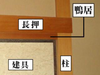 日本家屋の部位