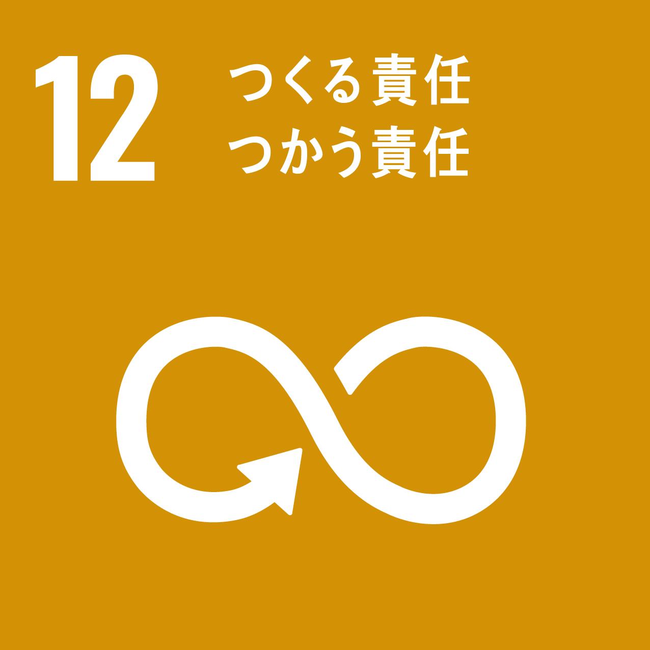 SDGs ゴール12「つくる責任、つかう責任」