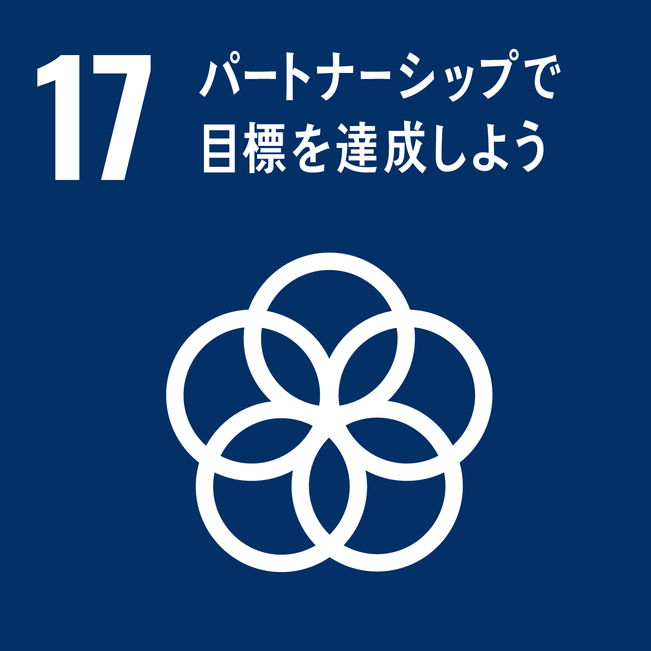 SDGs ゴール17「パートナーシップで目標を達成しよう」