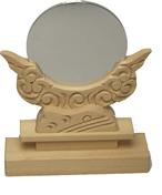 神鏡 鏡+雲形台