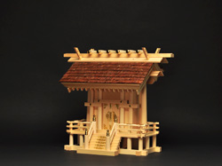 家庭用桧皮葺神殿