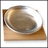シルバー(純錫製)皿 無地